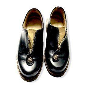 Geier Wally Premium Leather Platform Oxford Shoes